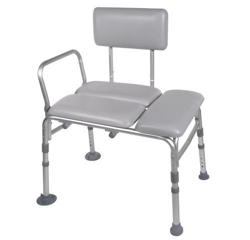 Buy Knock Down Padded Transfer Bench by Drive Medical from a SDVOSB | Transfer Benches