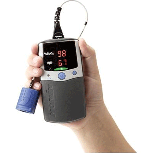 Buy PalmSAT 2500 Handheld Pulse Oximeter by Invacare from a SDVOSB | Pulse Oximeters