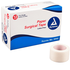 Buy Surgical Paper Tape, Hypoallergenic, Box by Dynarex | Medical Tape