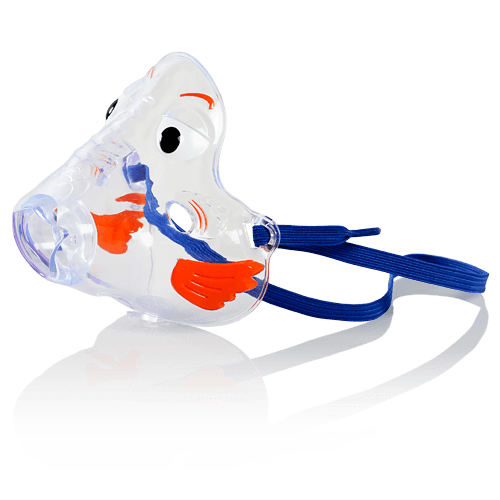 Pari Bubbles the Fish II Pediatric Aerosol Mask - Nebulizer Kit - Mountainside Medical Equipment