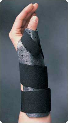 Sammons Thumb Spica Splint - Hand Therapist - Mountainside Medical Equipment