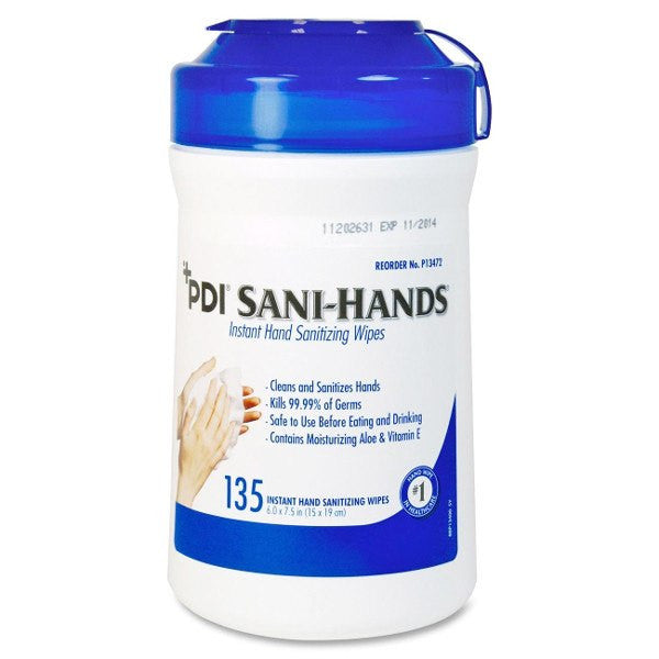 Buy Sani Hands ALC Antimicrobial Hand Sanitizing Wipes by Nice Pak from a SDVOSB | Instant Hand Sanitizer