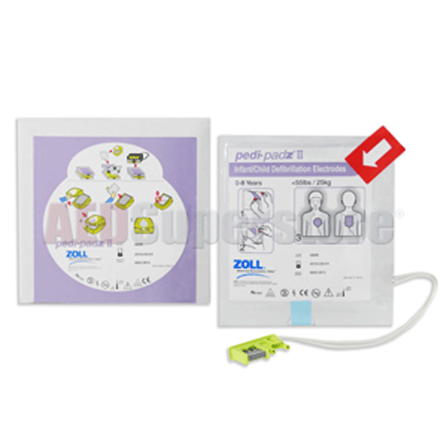 Buy Pedi-Padz II Pediatric Multi-Function Electrodes by Zoll wholesale bulk | Defibrillators