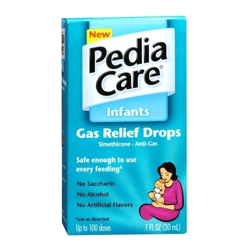 Pediacare Infants Gas Relief Drops, 1 oz for Gas and Bloating Relief by MedTech | Medical Supplies