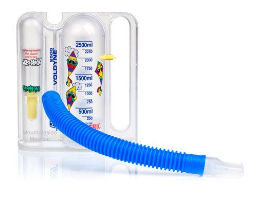 Pediatric Voldyne Volumetric Incentive Spirometer Breathing Exerciser 2500 mL