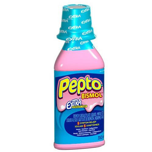 Buy Pepto Bismol Maximum Strength Liquid 8 oz Wintergreen online used to treat Anti-Diarrheal Relief Liquid - Medical Conditions