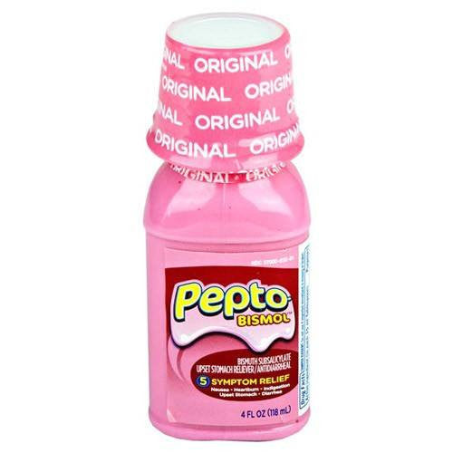 Pepto Bismol Liquid with Original Flavor 4 oz for Heartburn by Procter & Gamble | Medical Supplies