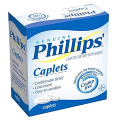 Buy Phillips Caplets Laxative Dietary Supplement 24 Count by Bayer Healthcare online | Mountainside Medical Equipment