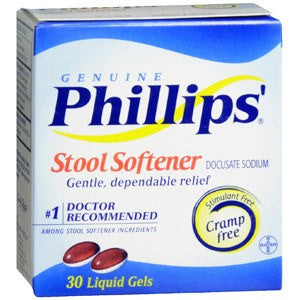 Buy Phillips Liquigel Stool Softener 30/Box by Bayer Healthcare from a SDVOSB | Laxatives