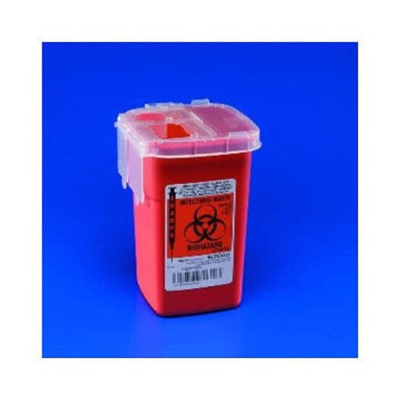Phlebotomy Sharps Container 1 Pint - Sharps Containers - Mountainside Medical Equipment