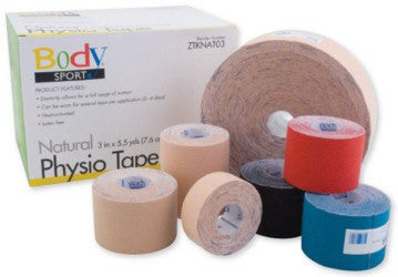 "Buy Physio Tape 1"" x 5.5 Yard Roll online used to treat Physical Therapy - Medical Conditions"