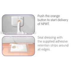 Buy Pico Negative Pressure Wound Therapy Pump with 7-Day Dressing by Smith & Nephew online | Mountainside Medical Equipment