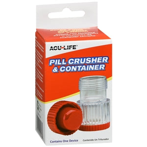 Acu-Life Pill Crusher & Container - Pill Crusher - Mountainside Medical Equipment
