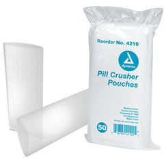 Buy 1000 Dynarex Pill Crusher Pouch Bags, Clear by Dynarex wholesale bulk | Pill Crusher