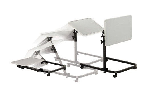 Pivot and Tilt Overbed Table - Hospital Beds - Mountainside Medical Equipment