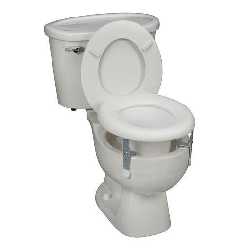 Universal Plastic Raised Toilet Seat - Raised Toilet Seats - Mountainside Medical Equipment