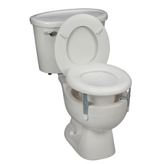 Buy Universal Plastic Raised Toilet Seat by Briggs Healthcare/Mabis DMI | Home Medical Supplies Online