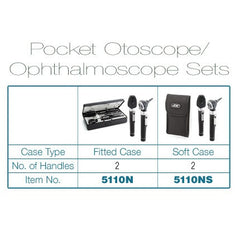 Pocket Otoscope and Ophthalmoscope Combo Set for Ear Supplies by ADC | Medical Supplies