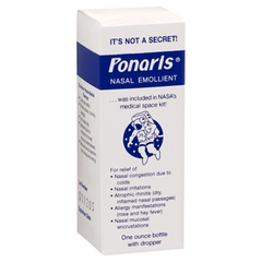 Buy Ponaris Nasal Emollient, 1 oz Bottle with Dropper by Jamol Laboratories online | Mountainside Medical Equipment