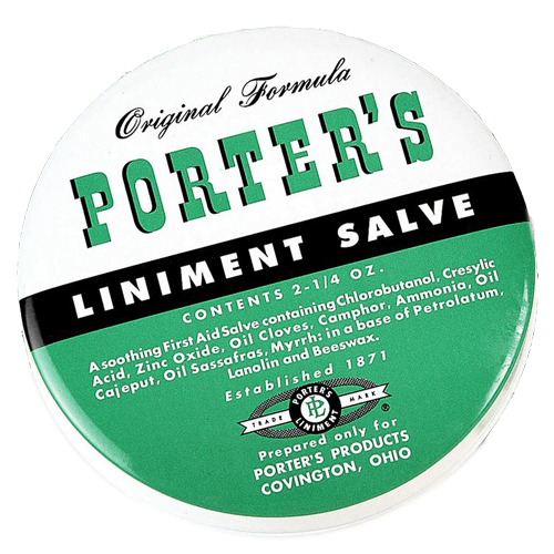 Buy Porter's Liniment Salve by n/a | SDVOSB - Mountainside Medical Equipment