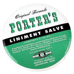 Buy Porter's Liniment Salve online used to treat Creams & Skin Barriers - Medical Conditions