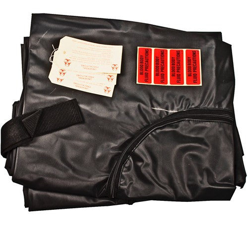 Post-Mortem Body Bag Kit - Zipper Bag, Tags & Labels - Human Remains Transport Bags - Mountainside Medical Equipment