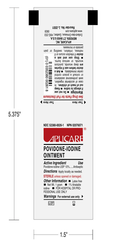 Aplicare PVP Povidone Iodine Ointment Packets 200/box for Wound Care by Aplicare | Medical Supplies