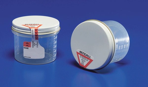 Precision Sterile Specimen Container Wide Mouth 5 oz (200/case) for Specimen Collector by Covidien /Kendall | Medical Supplies