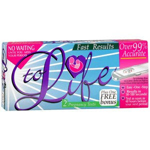 Buy To Life Pregnancy Tests by Rochester Drug from a SDVOSB | Testing Kits