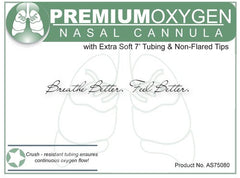 Buy Oxygen Nasal Cannula with Super Soft 7' Tubing online used to treat Nasal Cannulas - Medical Conditions