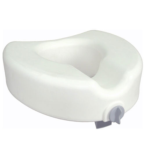 Premium Raised Toilet Seat with Lock