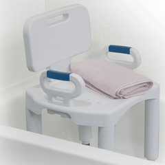 Buy Premium Adjustable Shower Chair with Back and Arms online used to treat Shower Chairs - Medical Conditions