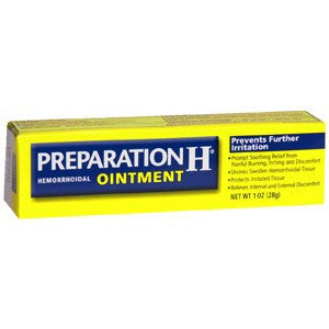 Buy Preparation H Hemorrhoidal Ointment 2 oz by Wyeth Pfizer from a SDVOSB | Creams and Ointments
