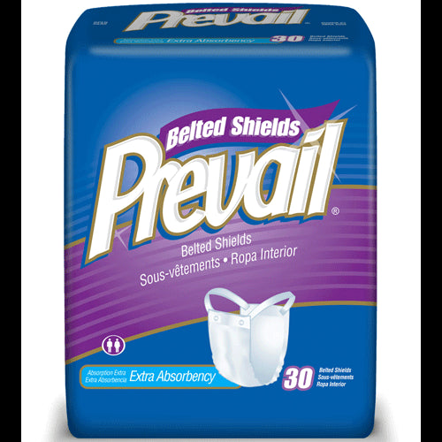 Buy Prevail Belted Shield Undergarments with Extra Absorbency 120/Case by First Quality Enterprises | Home Medical Supplies Online