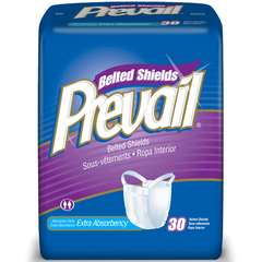 Prevail Belted Shield Undergarments with Extra Absorbency 120/Case for Belted Undergarments by First Quality Enterprises | Medical Supplies
