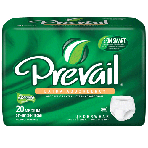 Prevail Extra Absorbency Underwear - Protective Underwear - Mountainside Medical Equipment