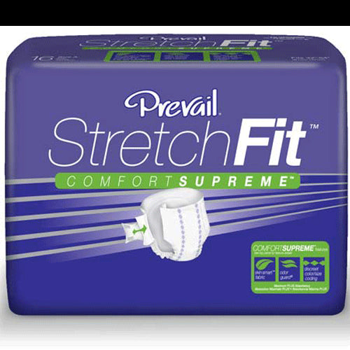 Buy Prevail StretchFit Adult Briefs (16 Pack) online used to treat Adult Diapers - Medical Conditions