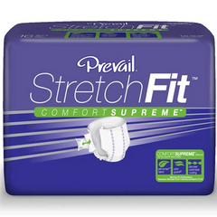 Buy Prevail StretchFit Adult Briefs (16 Pack) by First Quality Enterprises | Home Medical Supplies Online