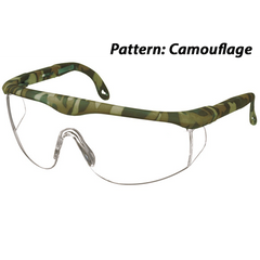 Buy Printed Full-Frame Adjustable Protective Eyewear Glasses by Prestige Medical from a SDVOSB | Operating Room Supplies
