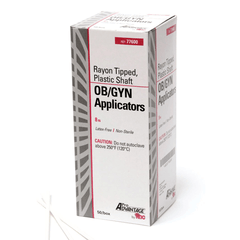 "Buy Oversized OB-GYN Swab Applicators, NS 8"" Plastic Shaft, 50/Box online used to treat Swabsticks - Medical Conditions"