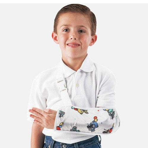 ProCare Pediatric Bear Print Arm Sling - Arm Slings - Mountainside Medical Equipment