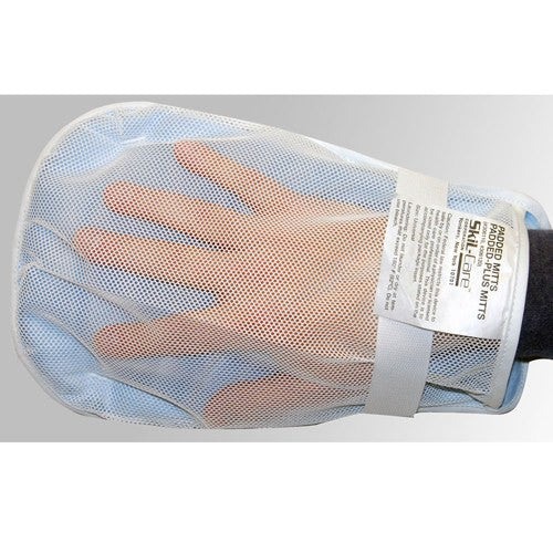 Buy Protective Padded Hand Mitts to Prevent Scratching, Pair by Skil-Care Corporation from a SDVOSB | Mental Health