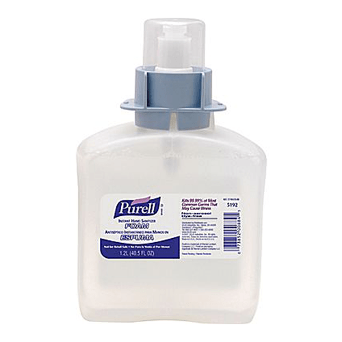 Purell Advanced Instant Foam Hand Sanitizer LTX-12 Refill 1200ml, 2/Cs