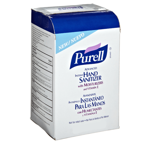 Purell Advanced Instant Hand Sanitizer 1000ml Refill Bags, 8/Case