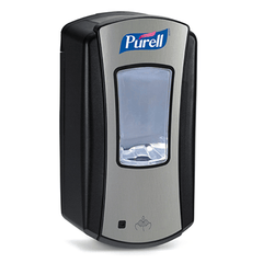 Purell LTX-12 Chrome Dispenser for Hand Sanitizers by GOJO | Medical Supplies