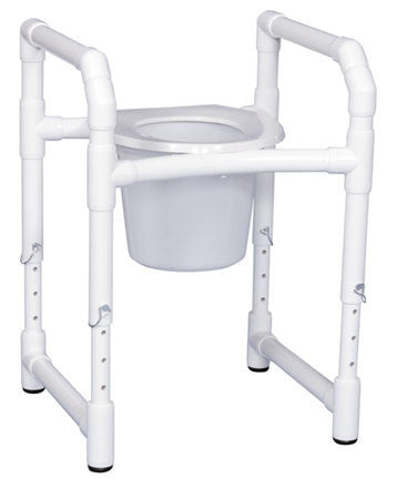 Toilet Safety Frame with Commode Pail