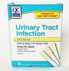 QC Urinary Tract and Bladder Infection Tests for Testing Kits by Quality Choice | Medical Supplies