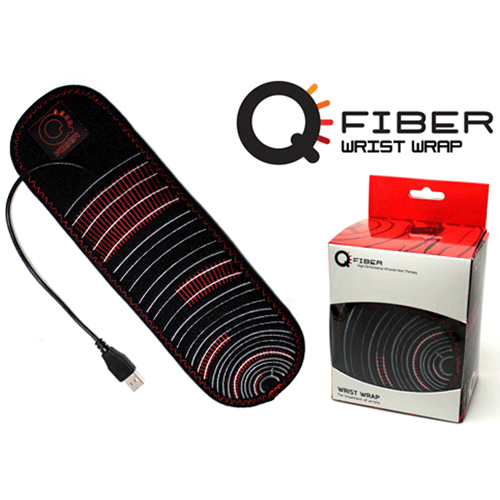 Qfiber Infrared Heat Therapy Wrist Wrap for Pain Management by Pain Management Technologies | Medical Supplies