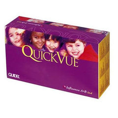 Buy Quidel Quickvue Influenza A+B Tests 25/Box online used to treat Testing Kits - Medical Conditions