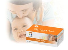 Buy Quidel Quickvue Respiratory Syncytial Virus (RSV) Test Kit 20/Box by Quidel Corporation from a SDVOSB | Respiratory Supplies